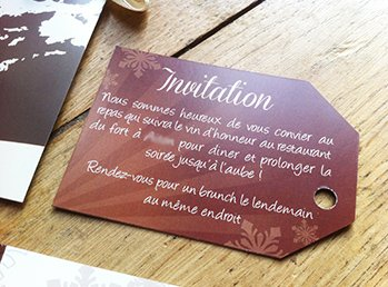 carton d invitation pour repas de mariage imprimer soi m me pictures to pin on pinterest. Black Bedroom Furniture Sets. Home Design Ideas