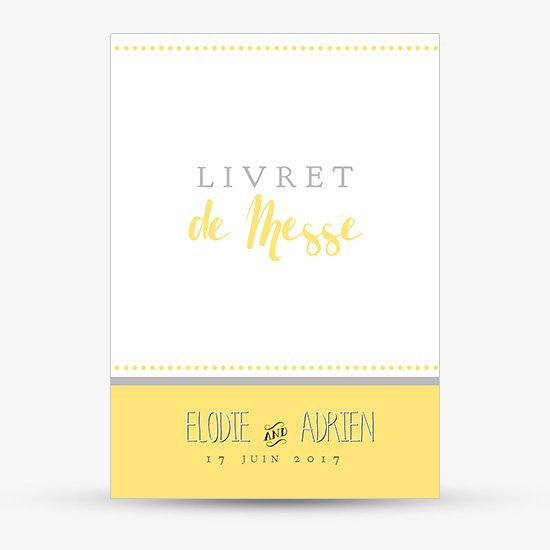 Fabuleux Couverture Livret de Messe | Sweet Paper IT57