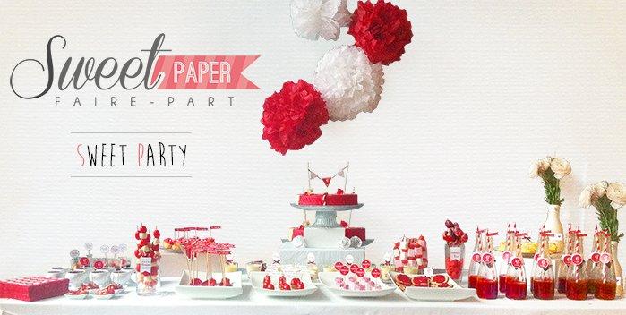 sweet-table-printable-rouge-blanc-cupcake-fraise-tagada-framboisier