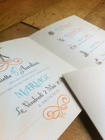 fairepart-mariage-retro-anees-folles-arcachon-ivoire-orange