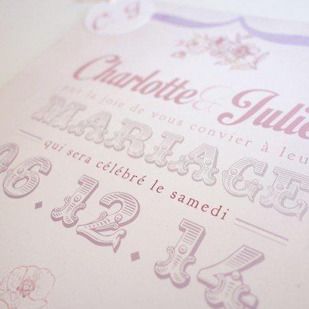 faire-part-mariage-champetre-retro-vintage-rose-fleurs-typo
