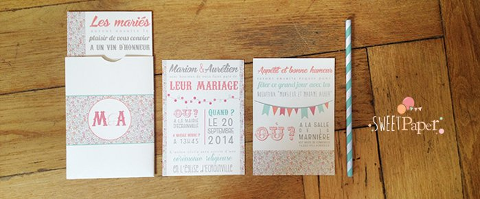 faire-part-mariage-pochette-retro-liberty-eloise-rose-fanions
