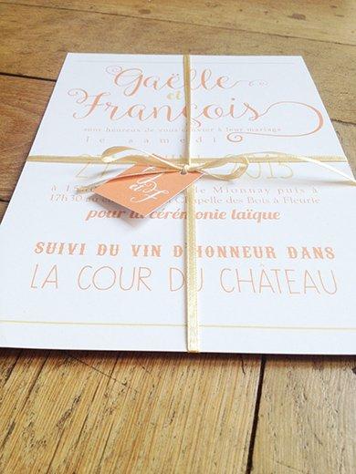 15-fairepart-mariage-retro-romantique-orange-or