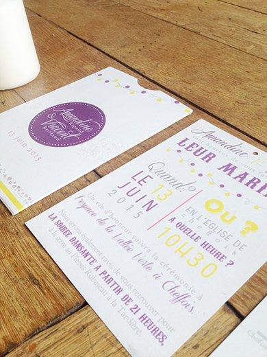26-fairepart-mariage-violet-jaune-retro-original