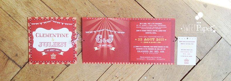 3-fairepart-cirque-fete-foraine-vintage