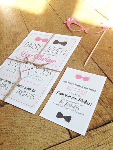 4-fairepart-mariage-original-etiquette-rose-noeud-pap