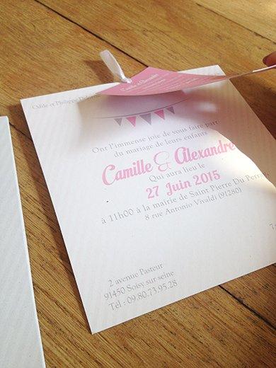 7-fairepart-mariage-pochette-fanion-gris-rose