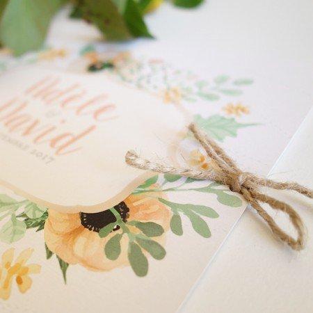 faire-part-mariage-fleuri-champetre-couronne-fleur-retro-mint-peche-corail