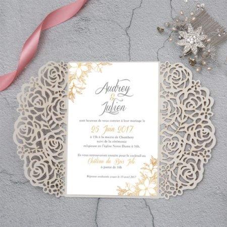 faire-part-mariage-cisele-sur-mesure-decoupe-laser-cut-dentelle-gold-or-paillete-glitter-dore-argent-rose-gold-chic