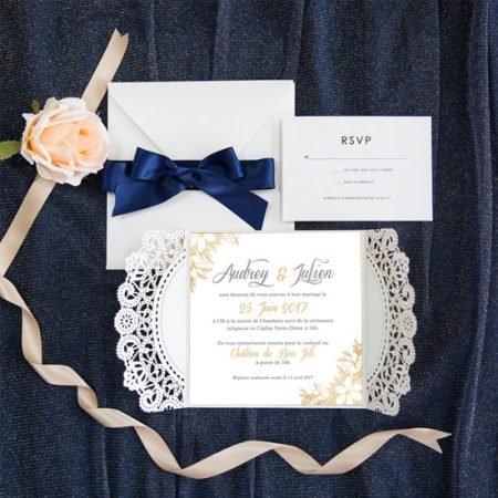faire-part-mariage-cisele-sur-mesure-decoupe-laser-cut-dentelle-gold-or-paillete-glitter-dore-argent-rose-gold-chic-bleu-navy-elegant