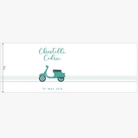 gobelet-eco-mariage-personnalise-sur-mesure-cadeau-invite-verre-original-dolce-vita-vert-menthe-scooter-retro