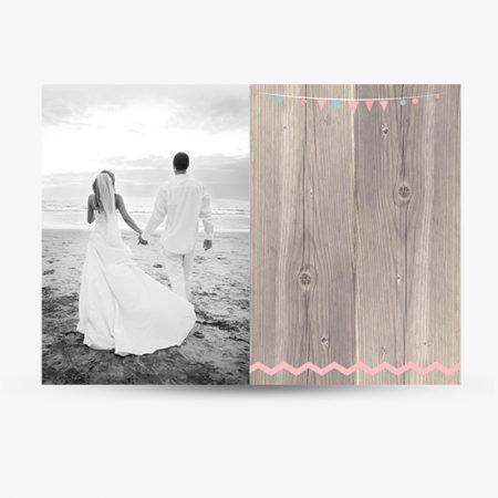 remerciements--mariage-retro-champetre-vintage-wood-fond-bois-fanions-chevrons-mint-vert-menthe-rose-poudre-peche-corail-rustique