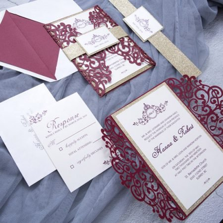 faire-part-mariage-pochette-cisele-decoupe-laser-cut-arabesque-floral-burgundy-lie-de-vin-bordeaux-WPL0041-2