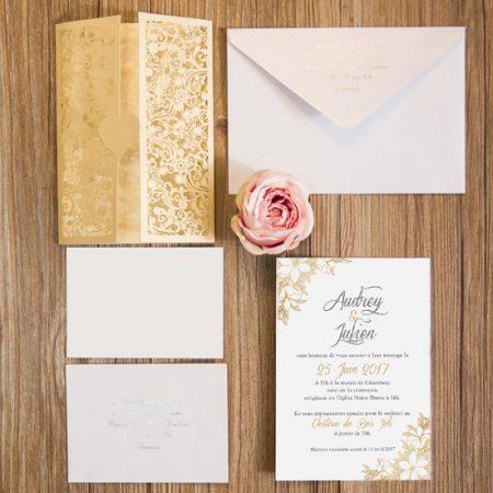 faire-part-mariage-pochette-cisele-decoupe-laser-cut-elegant-chic-glamour-or-dore-princesse