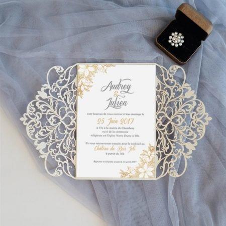 faire-part-mariage-pochette-cisele-decoupe-laser-cut-elegant-glamour-chic-arabesques-or-beige-taupe