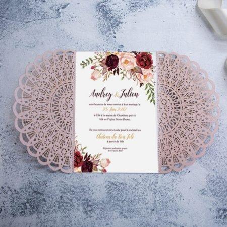 faire-part-mariage-pochette-cisele-decoupe-laser-cut-rose-poudre-pink-blush-napperon-strass-fleurs-WPL0091