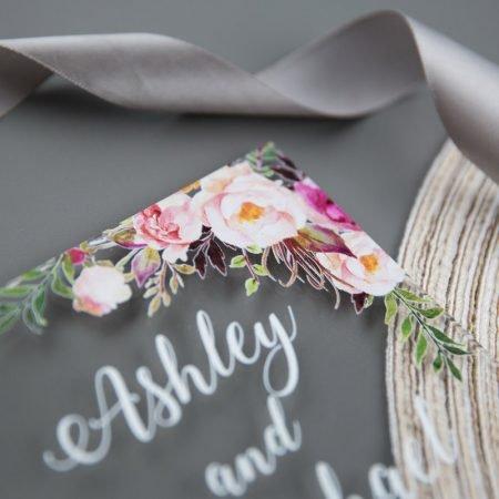 faire-part-mariage-luxe-haut-de-gamme-plexiglass-acrylique-vernis-relief-fleurs-watercolor
